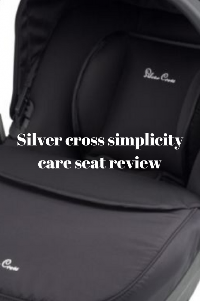 Silver Cross Simplicity car seat review #silvercross