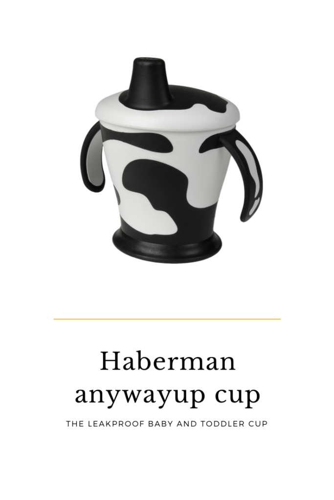 haberman anywayup cup review, the leakproof baby and toddler cup