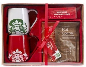 starbucks hot chocolate set