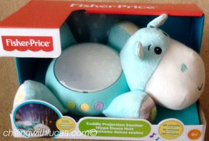 Fisher price hippo projection light soother