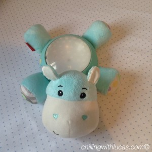 Fisherprice hippo light projection soother