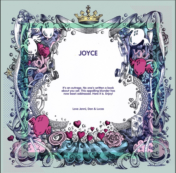 The book of everyone joyce page inside