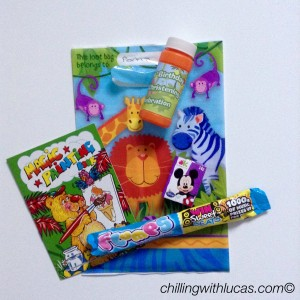Party bag for first birthday