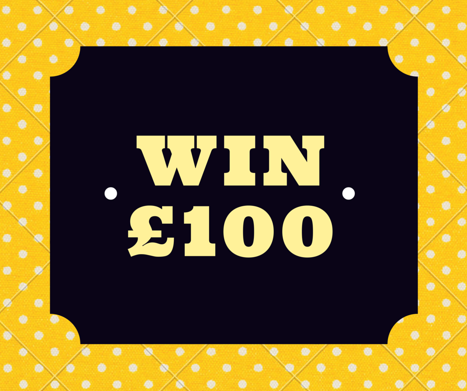 £100 giveaway