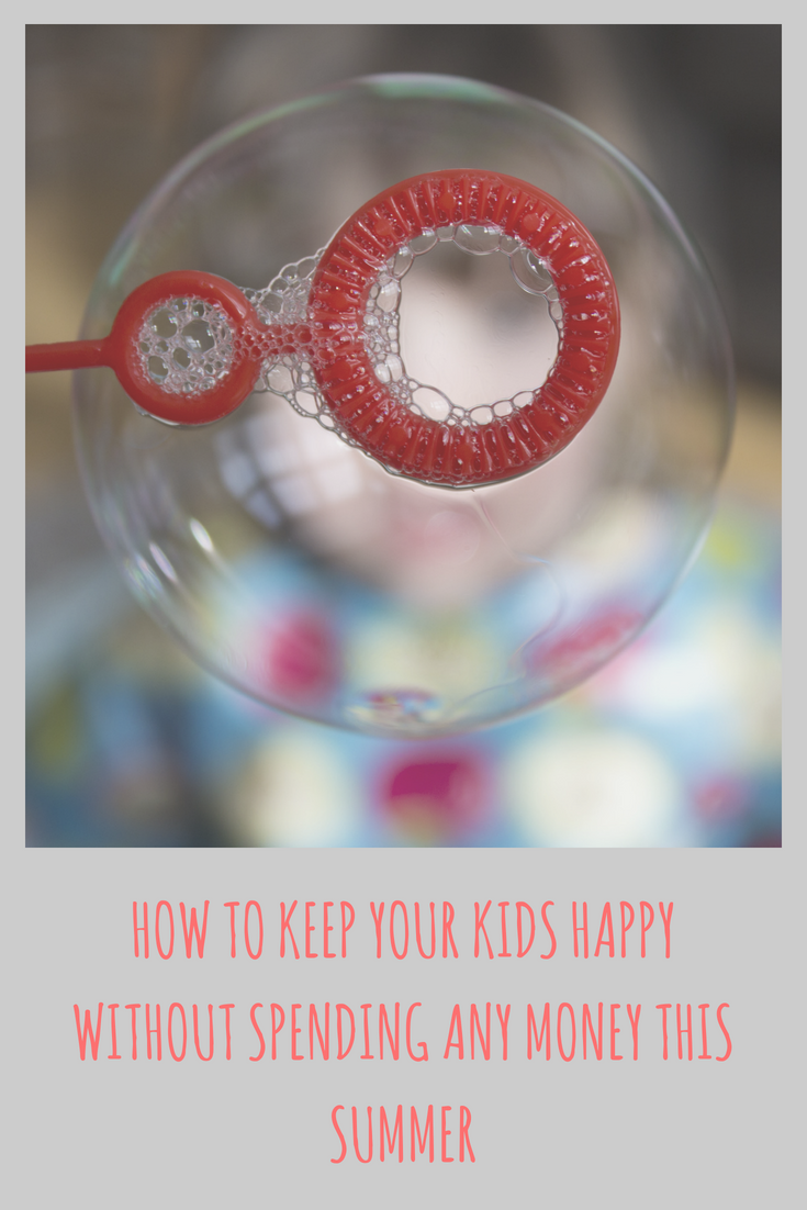 How To Keep Your Kids Happy Without Spending Any Money This Summer