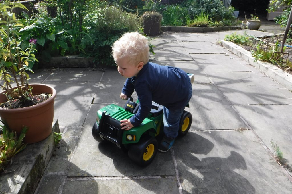 John deere atv toy review