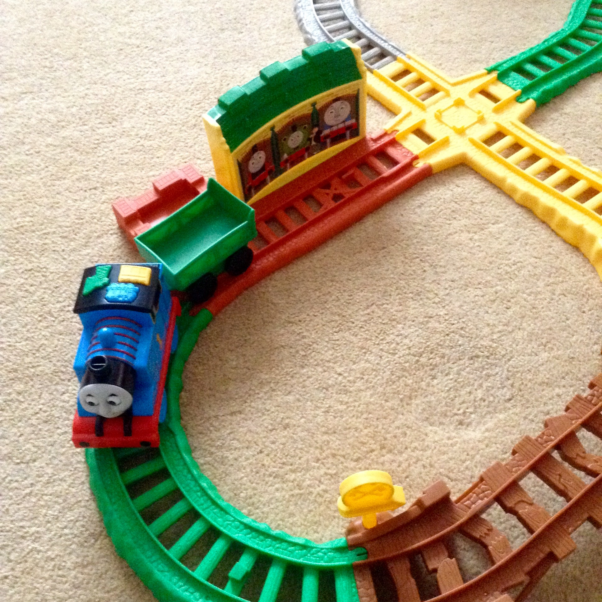 Thomas & Friends My First All Around Sodor, Thomas is a Tidmouth sheds