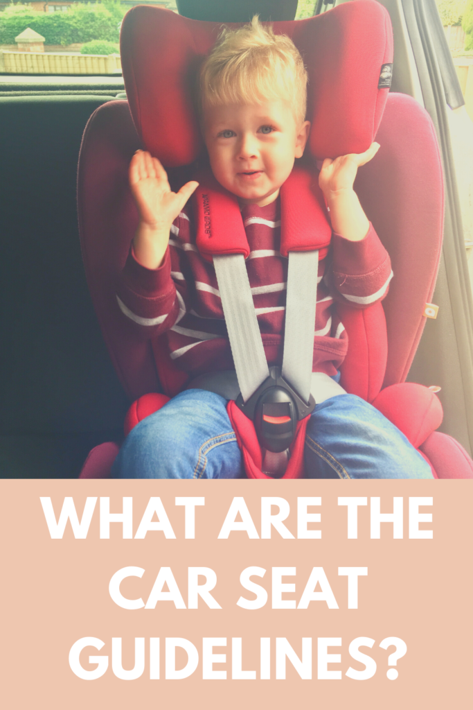 What are the car seat guidelines?