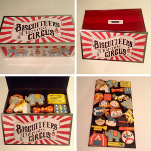 Christmas gift ideas biscuiteers Christmas circus box