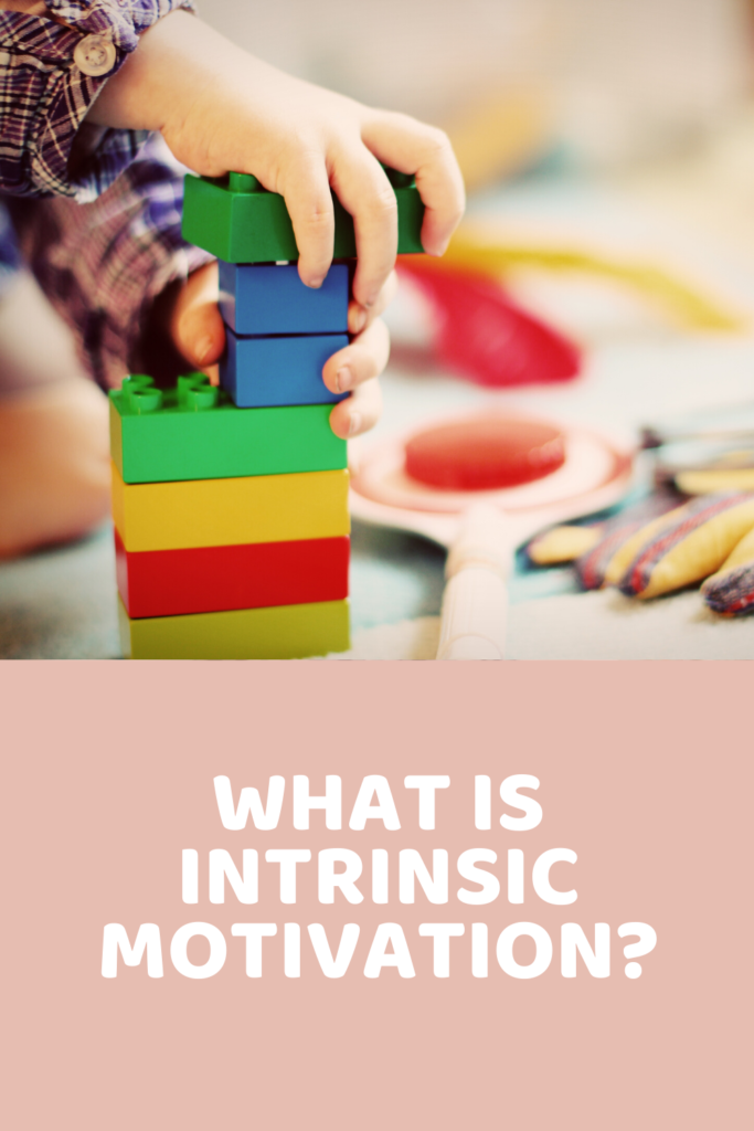 What is intrinsic motivation?