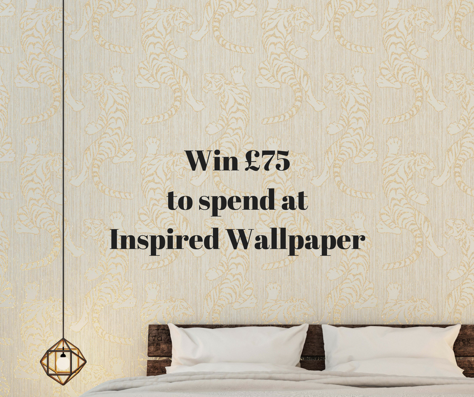 Win £75 to spend at Inspired Wallpaper
