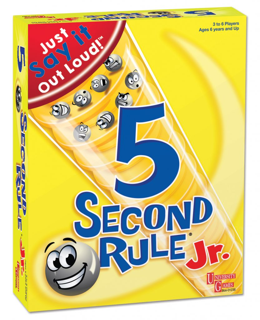 Top board games 5 second rule giveaway