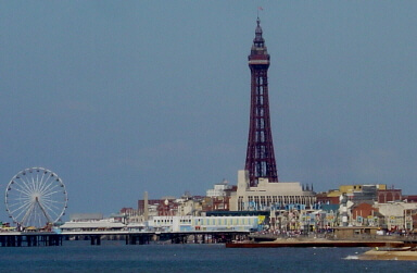 Accessible days out in Lancashire Blackpool tower