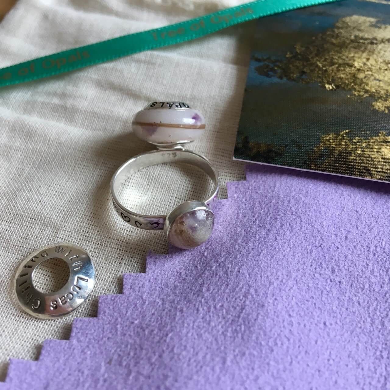 Tree of Opals breastmilk jewellery review and discount code