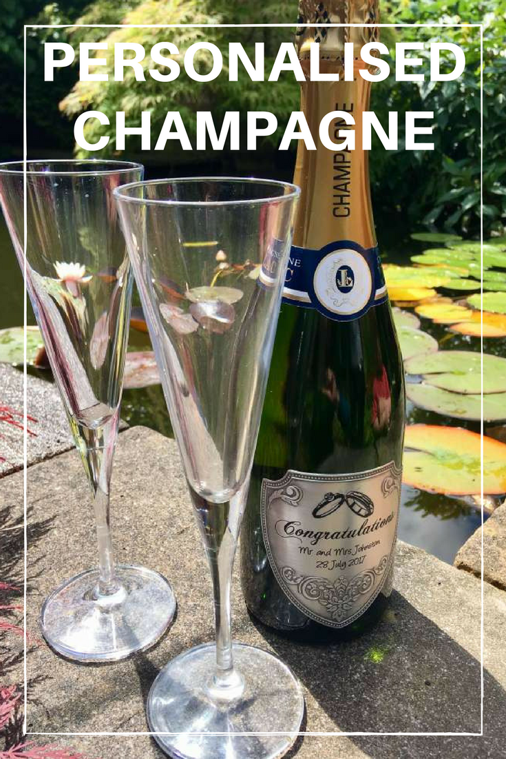 Personalised Champagne, #personalisedgifts #champagne #drink #wedding #gifts