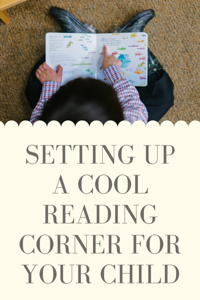 setting up a cool reading corner for your child