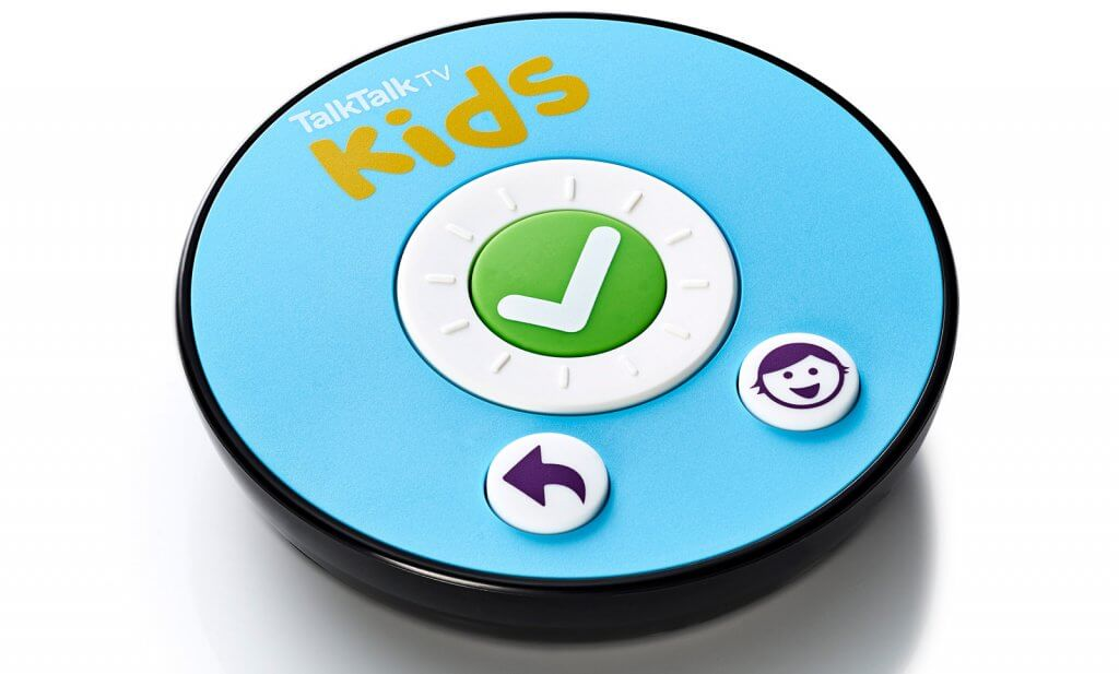 TalkTalk kids remote