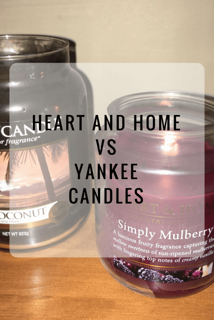 Heart and Home candles