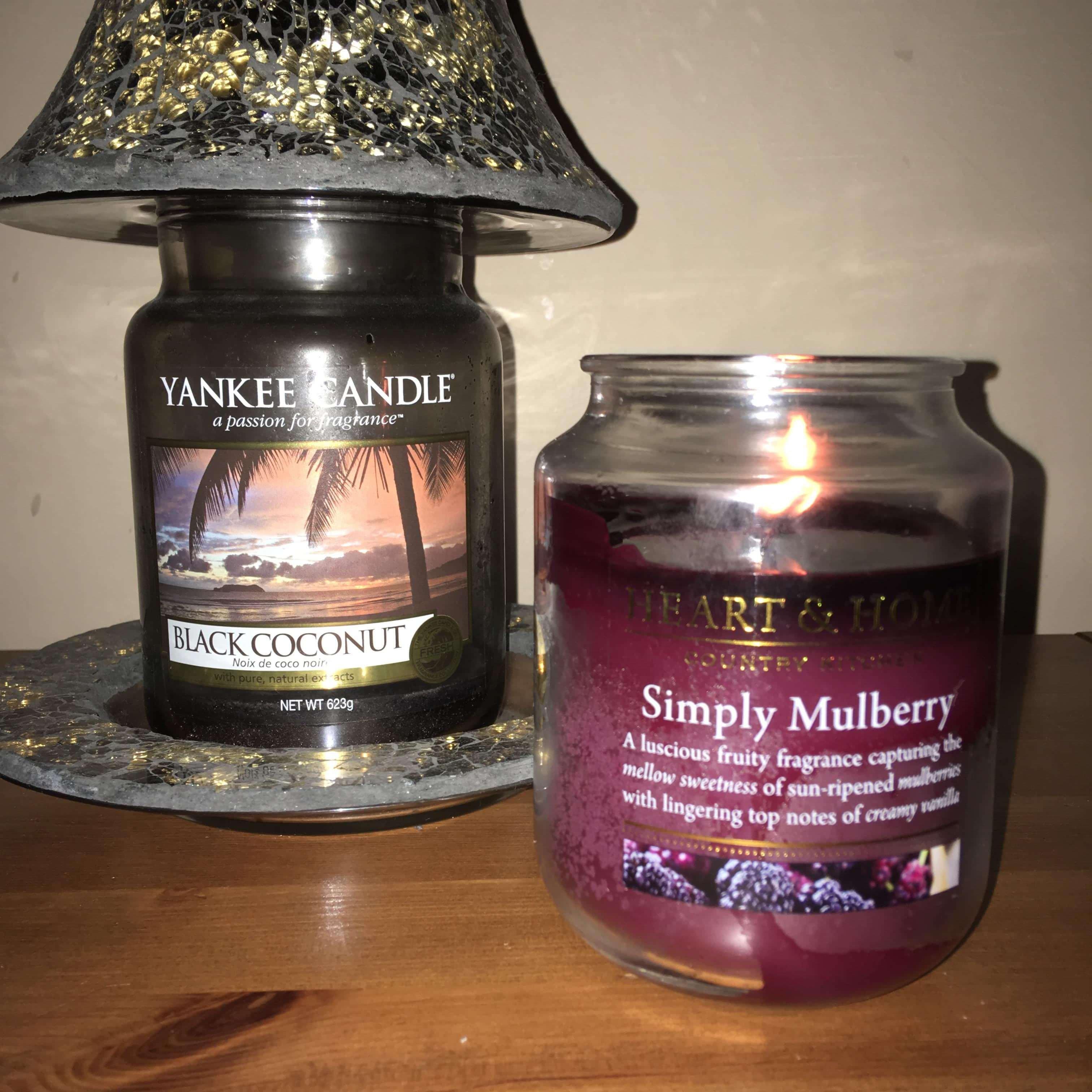 Heart And Home Candle Vs Yankee Chilling With Lucas