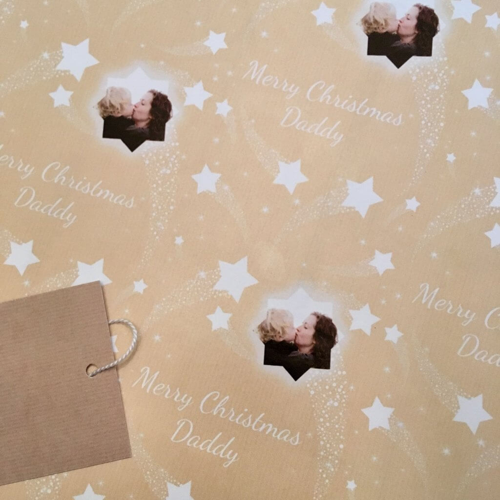 Christmas wrapping and decorations