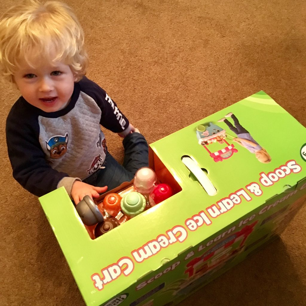 Leap Frog scoop and learn ice cream cart review