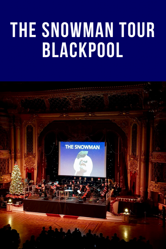 #thesnowman #blackpool #liveorchestra