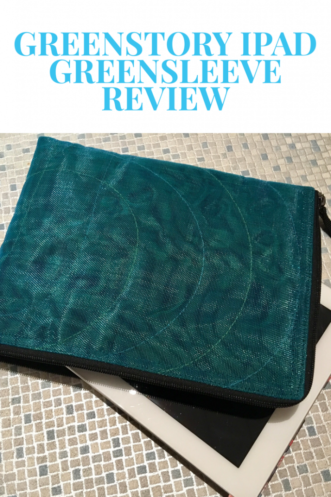 Greenstory iPad GreenSleeve review and giveaway #mygreenstory