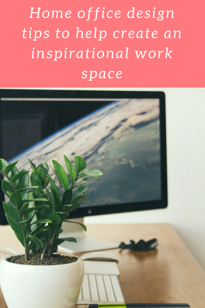 Home office design to create an inspirational work space #workfromhome