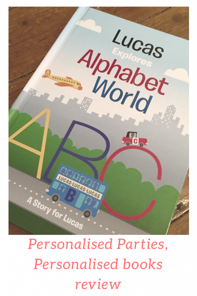 Personalised books review and giveaway #personlisedgifts