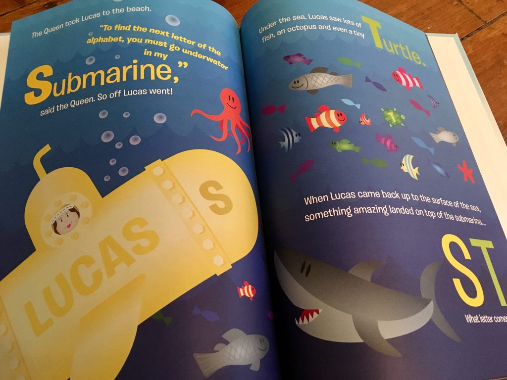 Personalised books review and giveaway