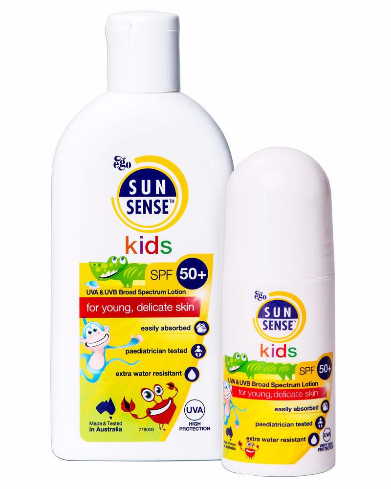 SunSense a photo of the Kids bottle and roll on