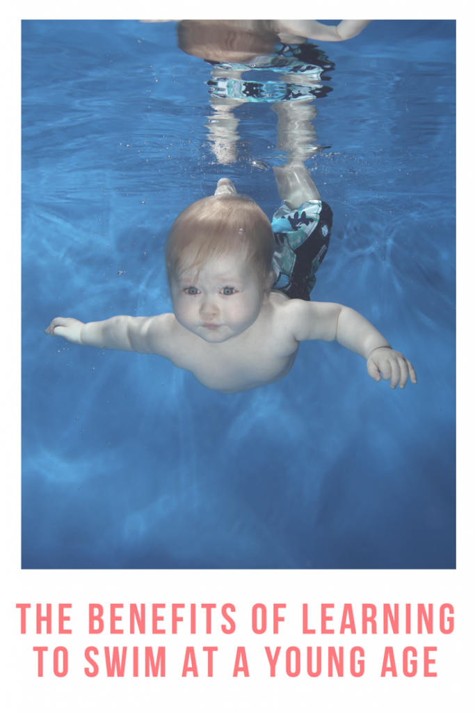 The benefits of learning to swim at a young age