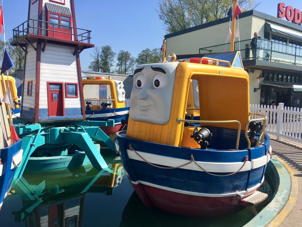 Drayton Manor theme park review Captain boat ride