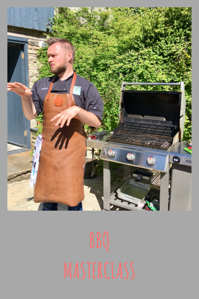 BBQ masterclass with BBQ guru Richard Holden and Thermapen