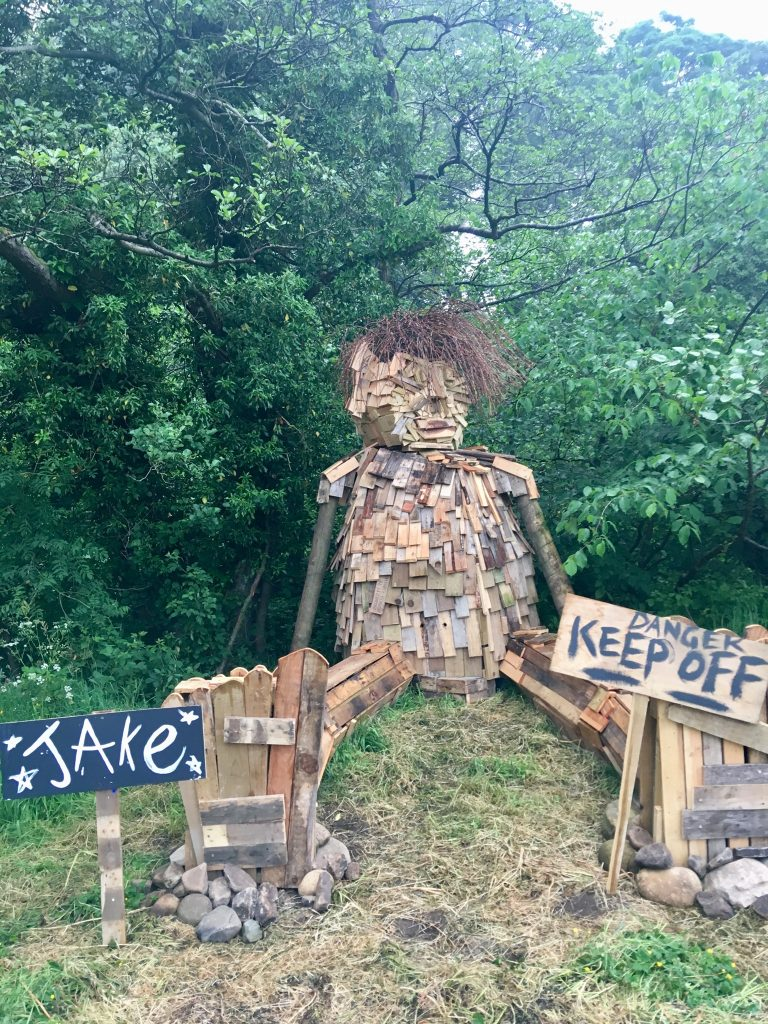 Down by the Riverside Festival review A wooden giant
