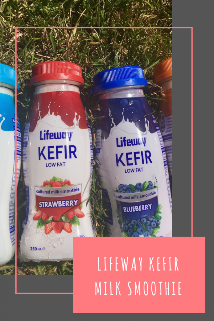 Lifeway Kefir review. A milk smoothie high in protein, calcium and vitamin D