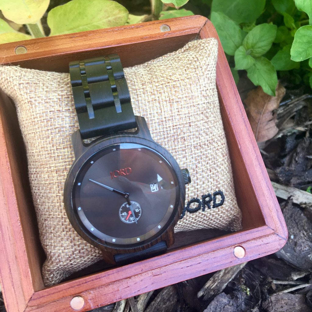 Unique Wooden Watch for Men. Jord wood watch review and giveaway