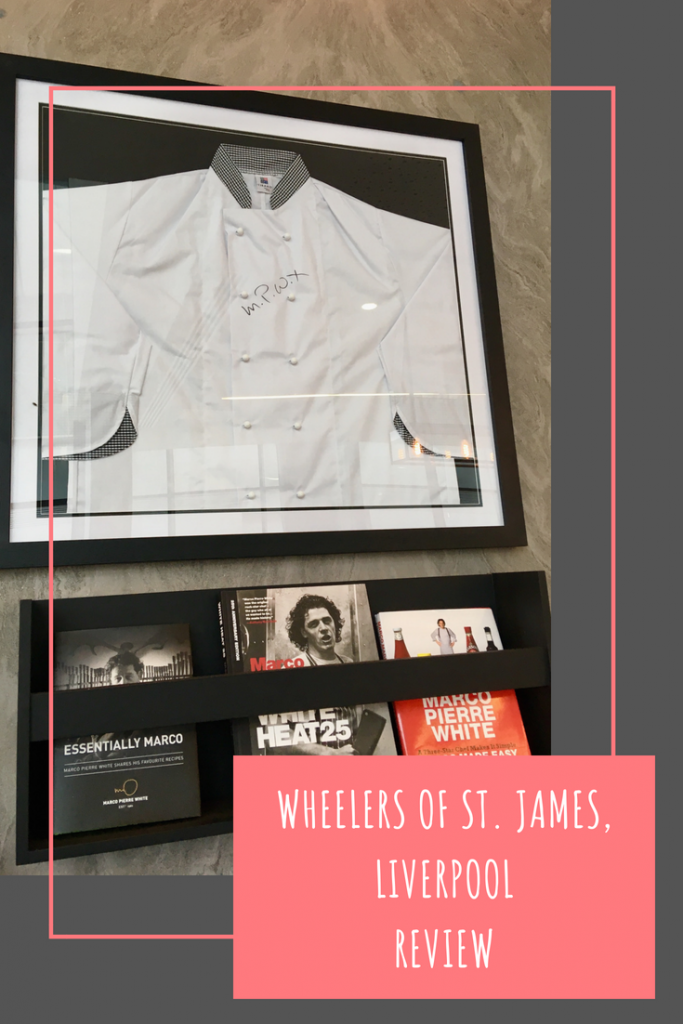 Wheelers of St. James, Liverpool review #foodanddrink #MarcoPierreWhite #Liverpool