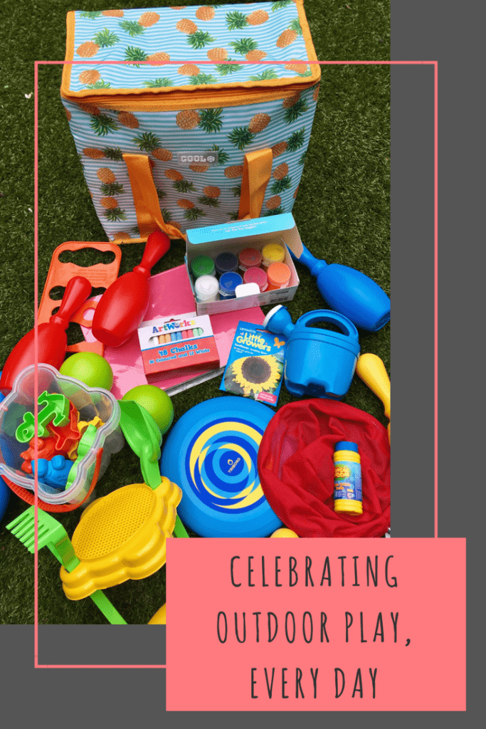 Celebrating outdoor play every day with Germolene's 90 days of Summer free guide of creative activities for families on a budget