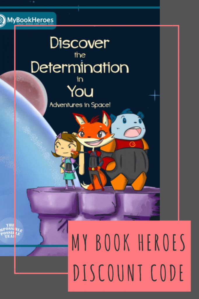 My Book Heroes discount code. Personalised children's books