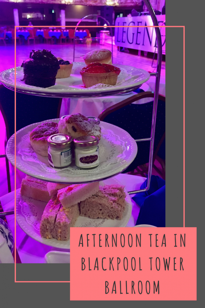 Afternoon Tea in Blackpool Tower Ballroom #Blackpool #Lancashire