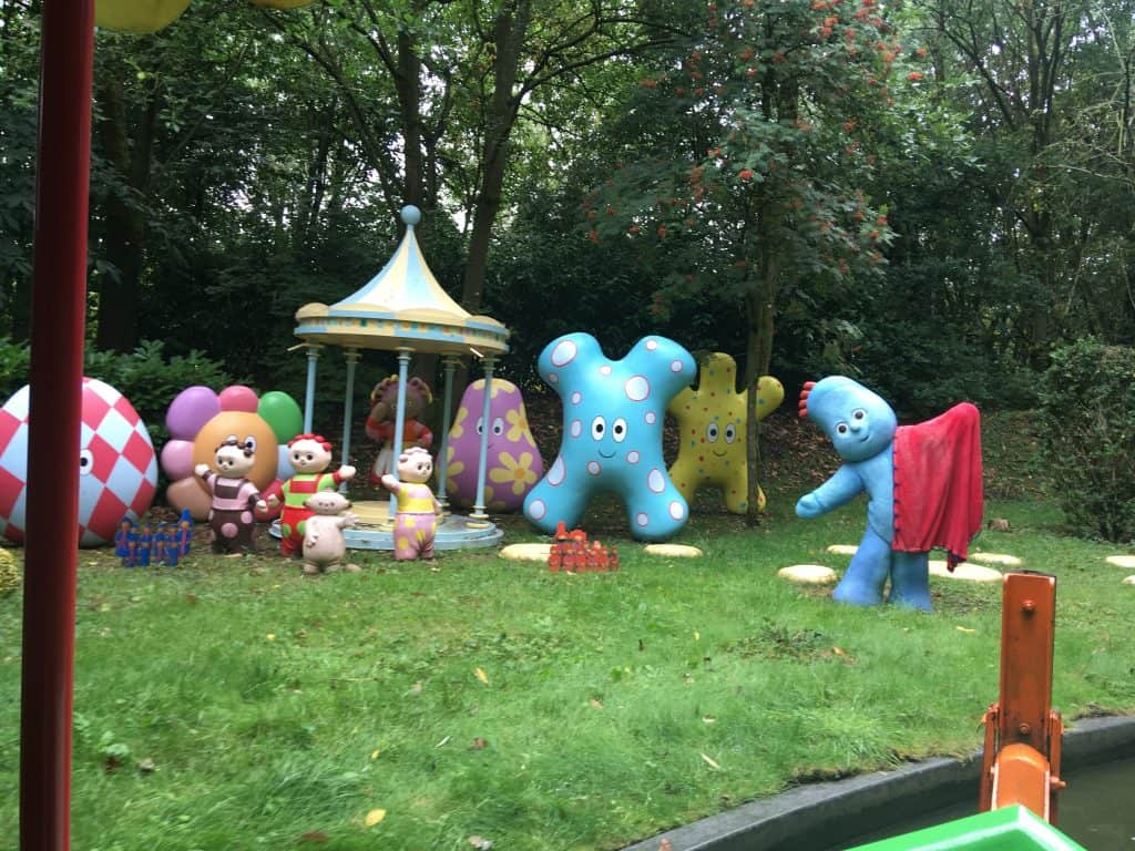 CBeebies Land, Alton Towers review In the night garden characters