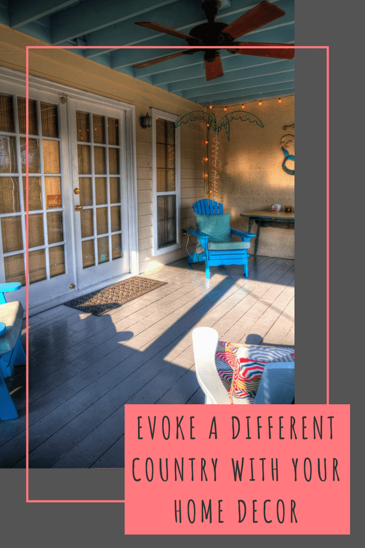 Evoke a different country with your home decor #SBSHomeEscapes