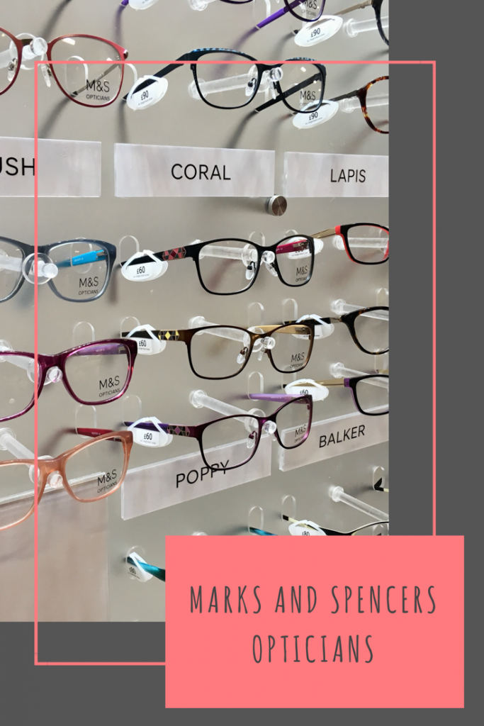 Marks and Spencer's Opticians have arrived!