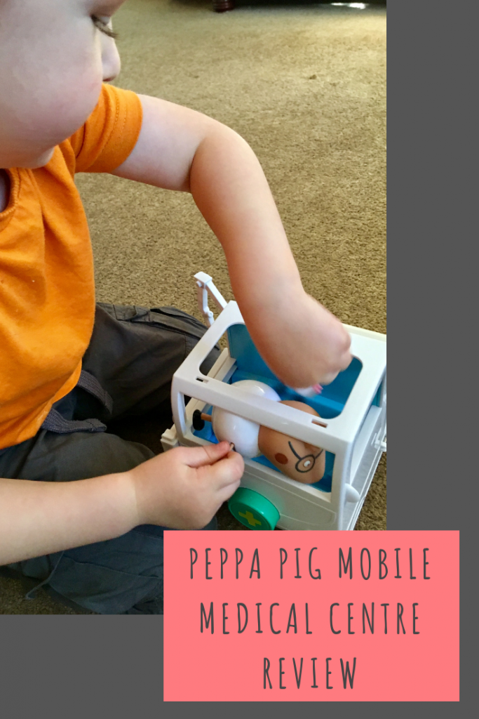 Peppa Pig Mobile Medical Centre review #CharacterOnline #PeppaPig