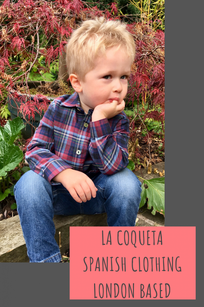 La Coqueta is Spanish designed and created clothing based in a London shop #childrenswear