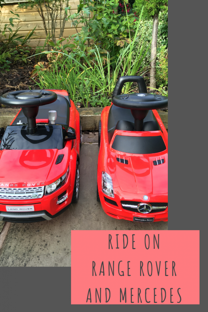 Ride on Range Rover and Mercedes review