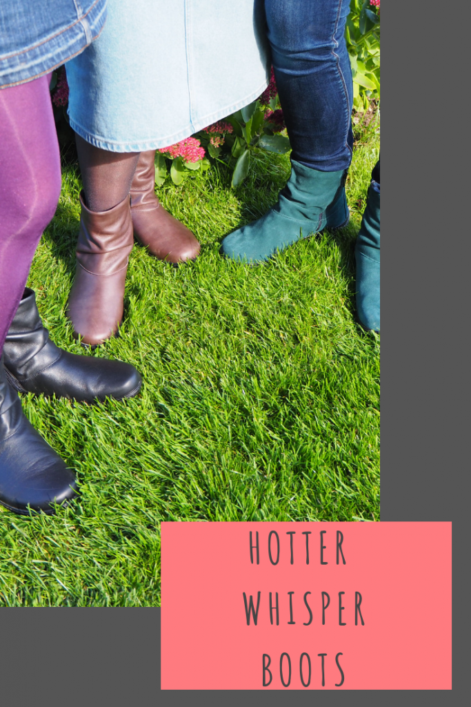 Whisper boots that are available in 9 colours. I chose deep teal which are suede, my Mum chose black and my Grandma chose mushroom, both of which are leather. The boots are insulating, soft and so so comfortable. They also have a zip fastening on the inside and outside of the boot which I think is a great feature, especially for those that struggle to get their shoes on. They are available in size 3 to 9, including half sizes #MyHotterStyle #HotterShoes
