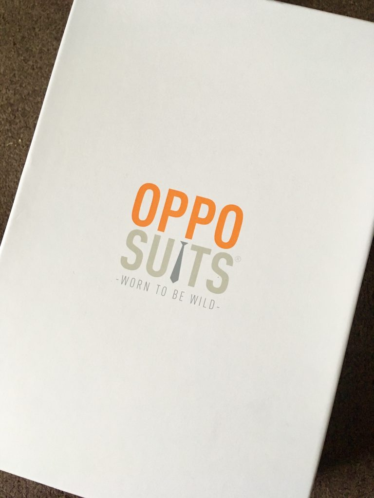 OppoSuits review The white box it came in