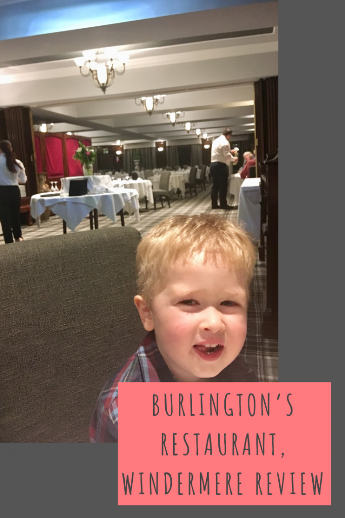 Burlington's restaurant, Windermere review #windermere #lakedistrict #cumbria
